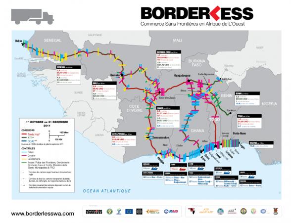 18ème USAID-UEMOA carte